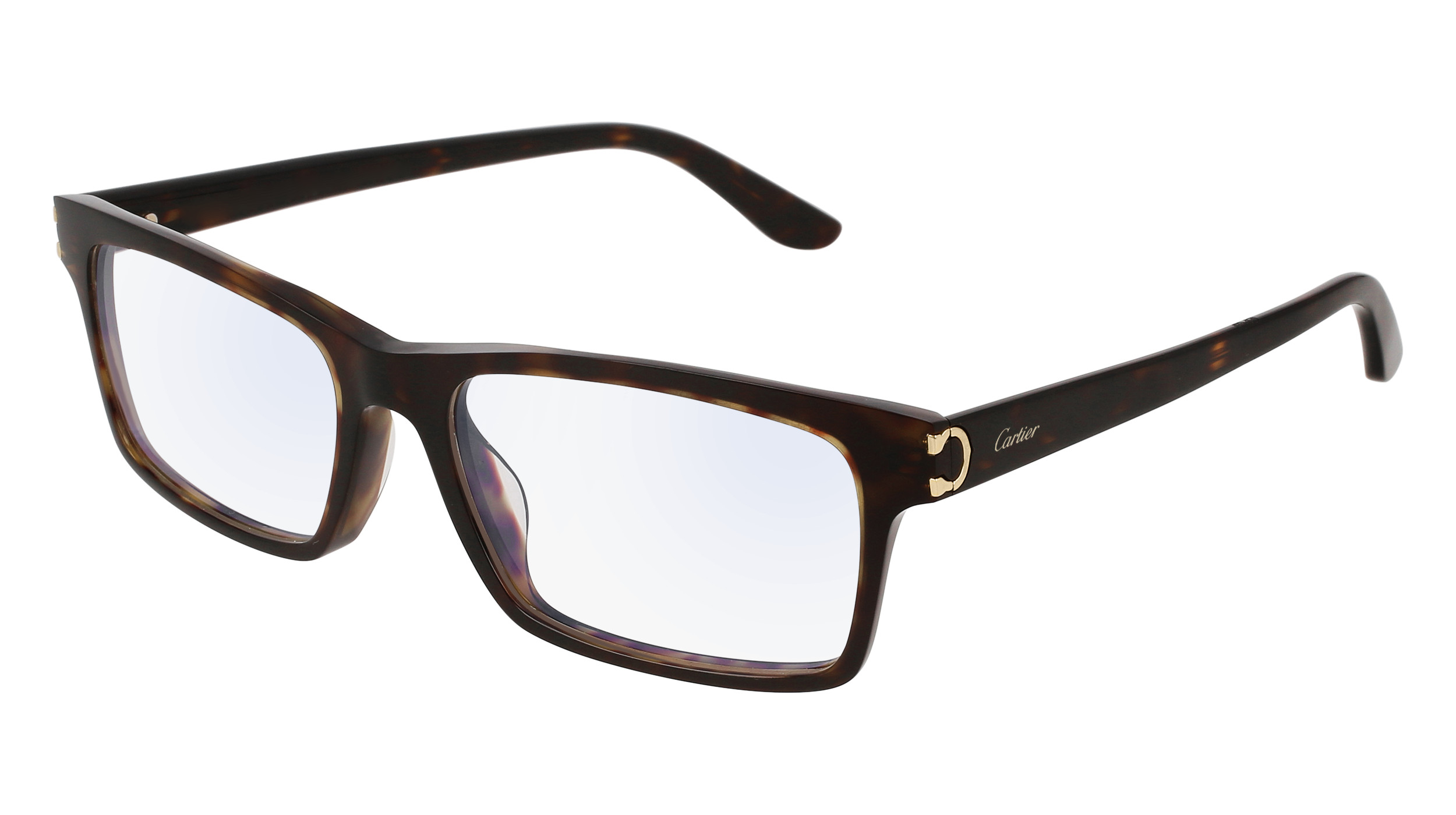 Cartier spectacle frame black womens