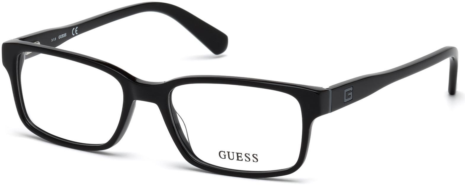 guess black glasses