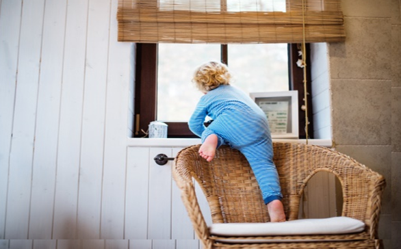 Are the Windows in Your Two-Storey Home Fall Safe